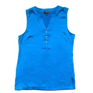 The Limited Tops - NWOT - Blue Sleeveless Blouse -The Limited Factory